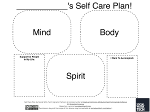 self-care-plan