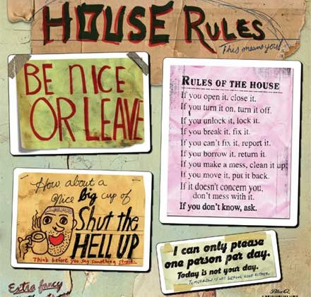 relationship house rules